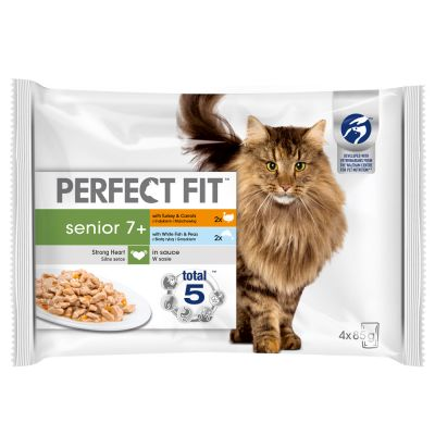 Lot mixte Perfect Fit Senior pour chat