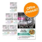 Lot mixte PURINA PRO PLAN NUTRISAVOUR 6 x 85 g