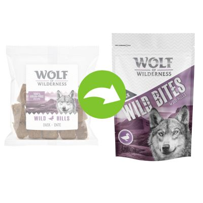 Lot mixte Wolf of Wilderness Bouchées 720 g pour chien