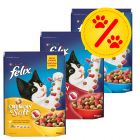 Lot mixte 3 x 950g Felix Crunchy & Soft