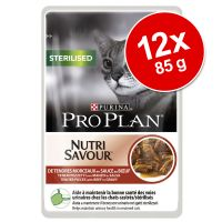 Lot PURINA PRO PLAN 12 x 85 g pour chat