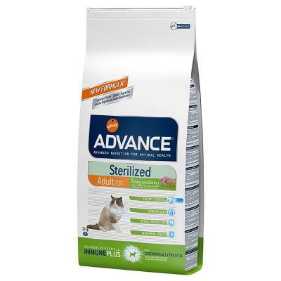 Lot 2 saveurs Advance Sterilized 2 x 3 kg