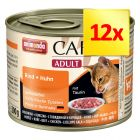 Lot 4 saveurs Animonda Carny Adult 12 x 200 g