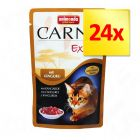 Lot 3 saveurs Animonda Carny Exotic 24 x 85 g
