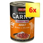 Lot 6 saveurs Animonda GranCarno Adult 6 x 400 g