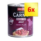 Lot 6 saveurs Animonda GranCarno Adult 6 x 800 g