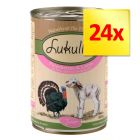Lot 2 saveurs Lukullus Junior 24 x 400 g
