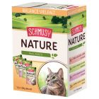 Lot Schmusy Nature Balance 12 x 100 g pour chat