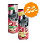 Lot Smilla Grass Tabs et Cheese Rolls pour chat