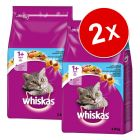 Lot Whiskas 2 x 950 g / 1,9 kg / 3,8 kg pour chat