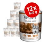 Lot Wolf of Wilderness 12 x 800 g pour chien