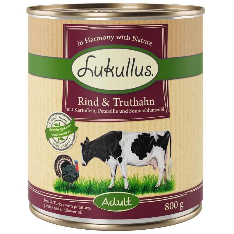 Lukullus Beef & Turkey - Grain-Free