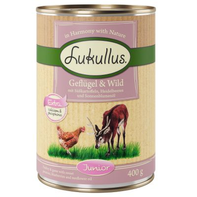 Lukullus Junior Mixed Trial Pack 6 x 400g