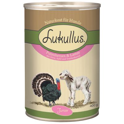 Lukullus Junior Saver Pack 24 x 400g