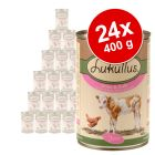 Lukullus Junior 24 x 400 g - Pack económico