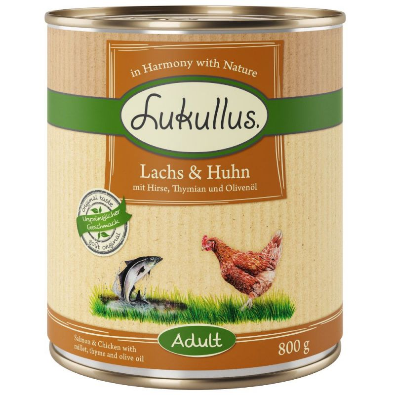 Lukullus Salmon & Chicken