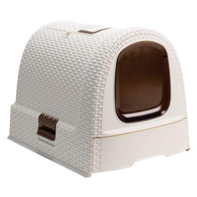 curver maison de toilette pour chat zooplus. Black Bedroom Furniture Sets. Home Design Ideas