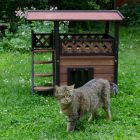 Maisonette Outdoor Cat House