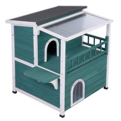 maisonnette d 39 ext rieur pour chat maisonnette marquise pour chat. Black Bedroom Furniture Sets. Home Design Ideas