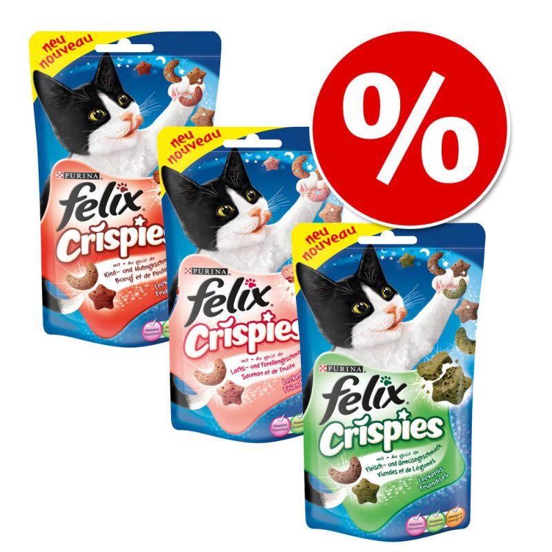 Míchané balení snacků Felix Crispies 3 x 45 g