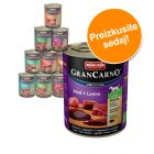 Mešano pakiranje Animonda GranCarno Original Adult 6 x 800 g