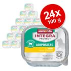 Megapakiet Animonda Integra Protect Adult Adipositas, tacki, 24 x 100 g