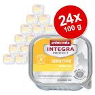 Megapakiet Animonda Integra Protect Adult Sensitive, tacki, 24 x 100 g