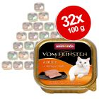 Megapakiet Animonda vom Feinsten Adult, 32 x 100 g