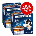 Megapakiet Felix Fantastic 2 smaki (So gut...), 48 x 100 g