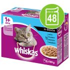 Megapakke: Whiskas 1+ Adult 48 x 100 g