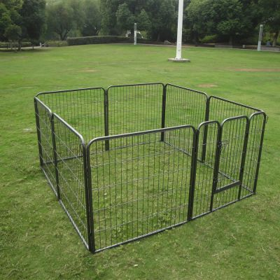 Metal Run for Puppies – 8 Sided