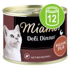 Miamor Deli Dinner 12 x 175 g