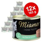 Miamor Delicato Filetto in Gelatina 12 x 185 g