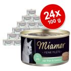Miamor Feine Filets v želé 24 x 100 g
