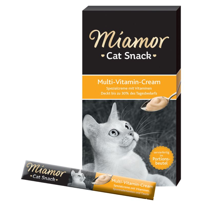Miamor Cat Snack Multi-Vitamin Cream