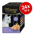 Miamor Feine Filets w saszetkach MINI, 24 x 50 g