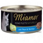 Miamor  Fine Filets Naturelle, 6 x 80 g
