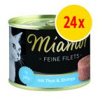Miamor Fine Filets 24 x 185 g