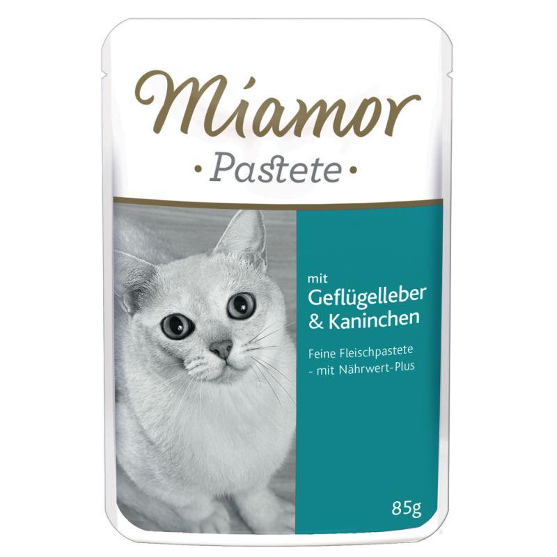 Miamor Pâté Pouch 6 x 85 g