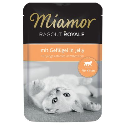 Miamor Ragout Royale Kitten in Jelly 22 x 100g