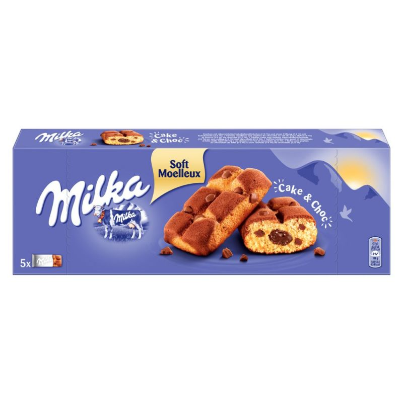 5 X 35 G Milka Cake Choc