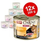 Mix Sparpaket Animonda Carny Adult 12 x 200 g