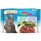 Mixpack Stuzzy Cat Pouch 4 x 100 g