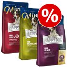 Mixpaket: 3 x 4 kg Happy Dog Supreme Mini