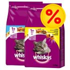 Mix-Sparpaket Whiskas 1+ 2 x 3,8 kg