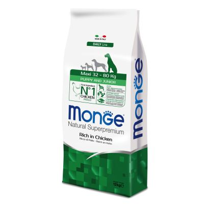 Monge Superpremium Puppy Junior Maxi