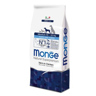 Monge Superpremium Puppy Junior Medium