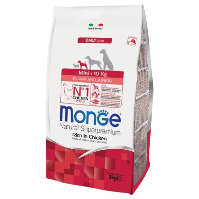 Monge Superpremium Puppy Junior Mini