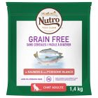 Nutro Grain Free Adult saumon, poissons blancs pour chat