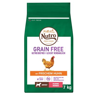 Nutro Grain Free Cane Adult Small Pollo